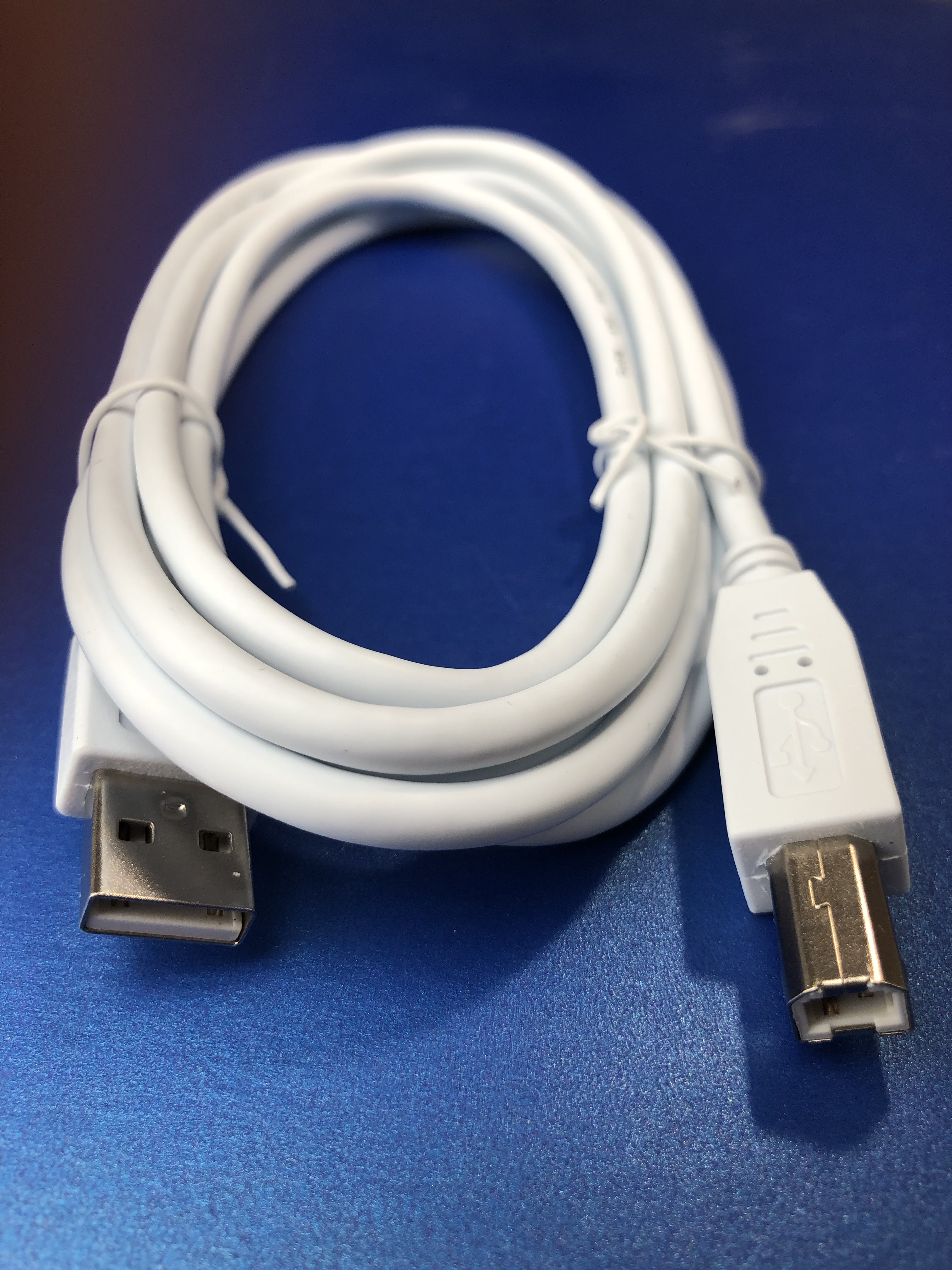 USB 2.0 A Male to B Male Lead, 2m